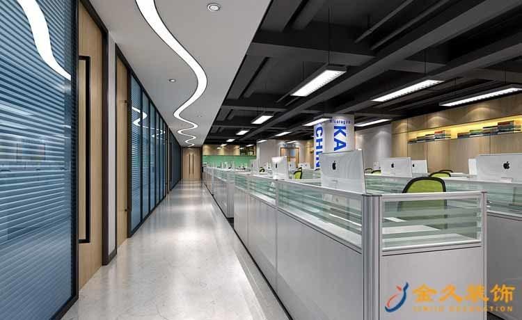 广州办公室过道怎么装饰设计