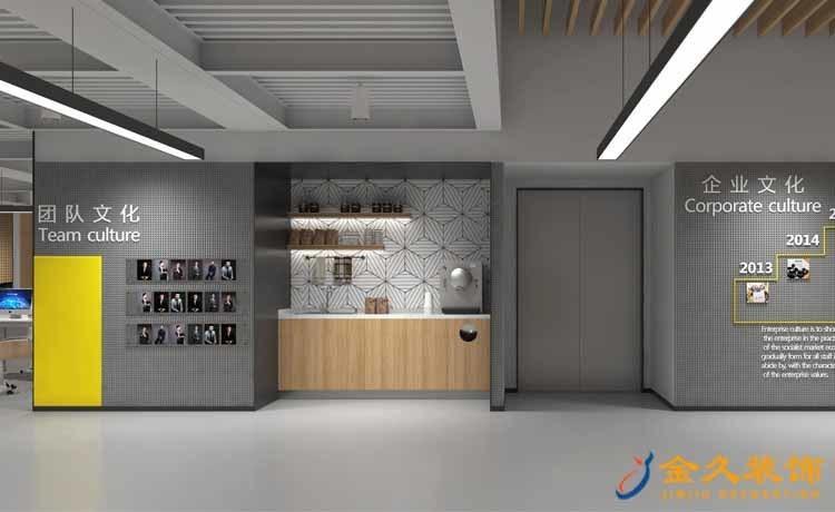 企业文化墙装修设计效果图