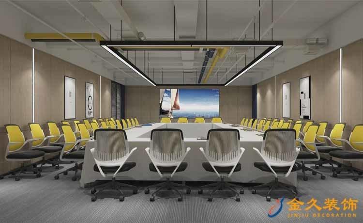 大型会议室装修设计效果图