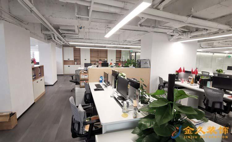 办公区域装修设计实景图
