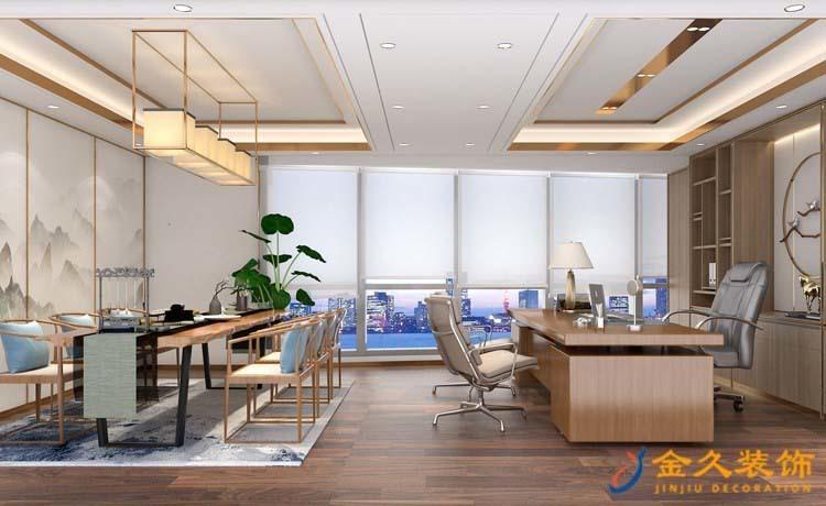 总经理办公室装修设计效果图