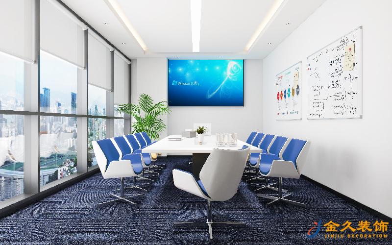 广州办公室装修顶面怎么装饰设计