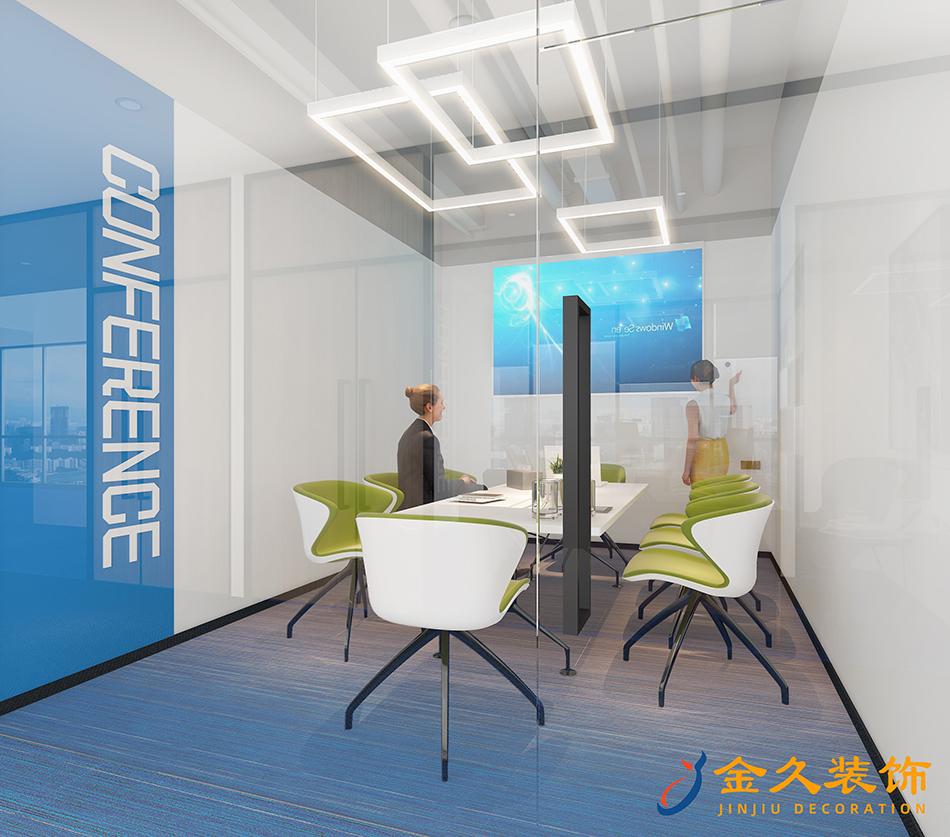 小型會議室裝修設計效果圖