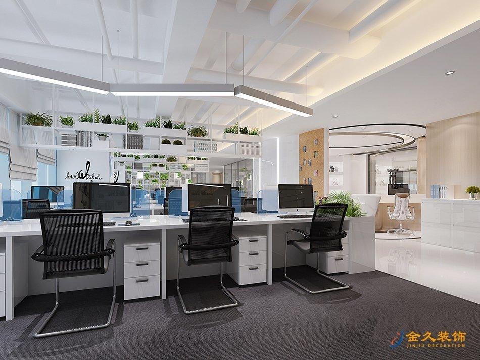辦公區裝修設計效果圖
