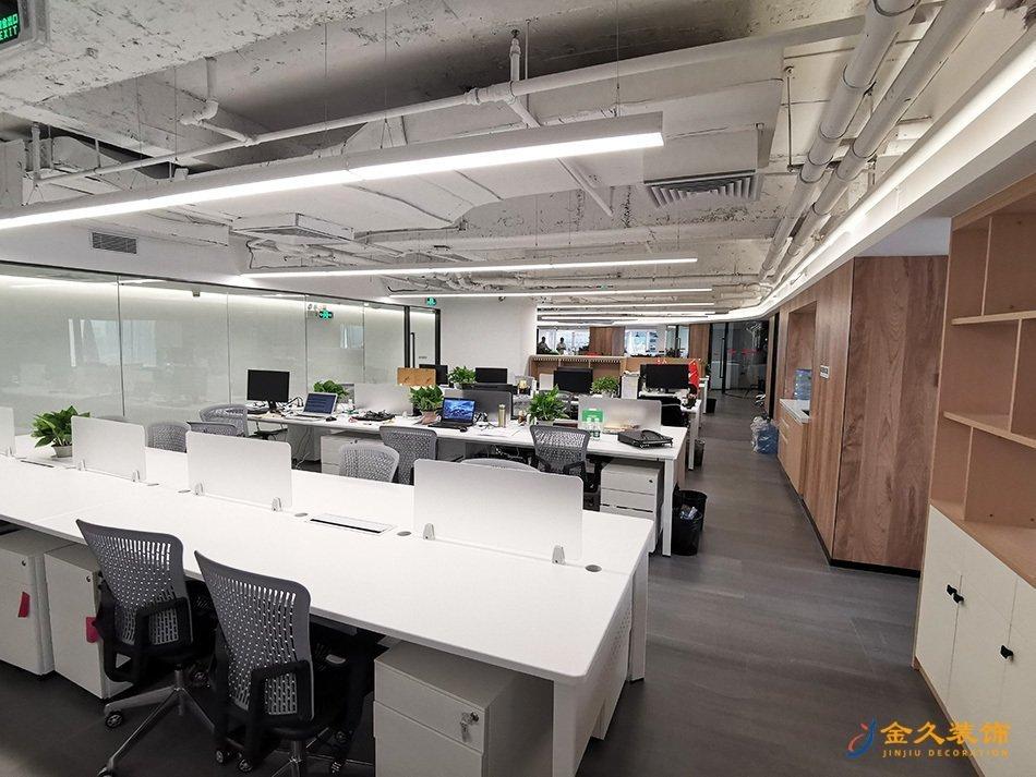 办公室区域装修设计实景图