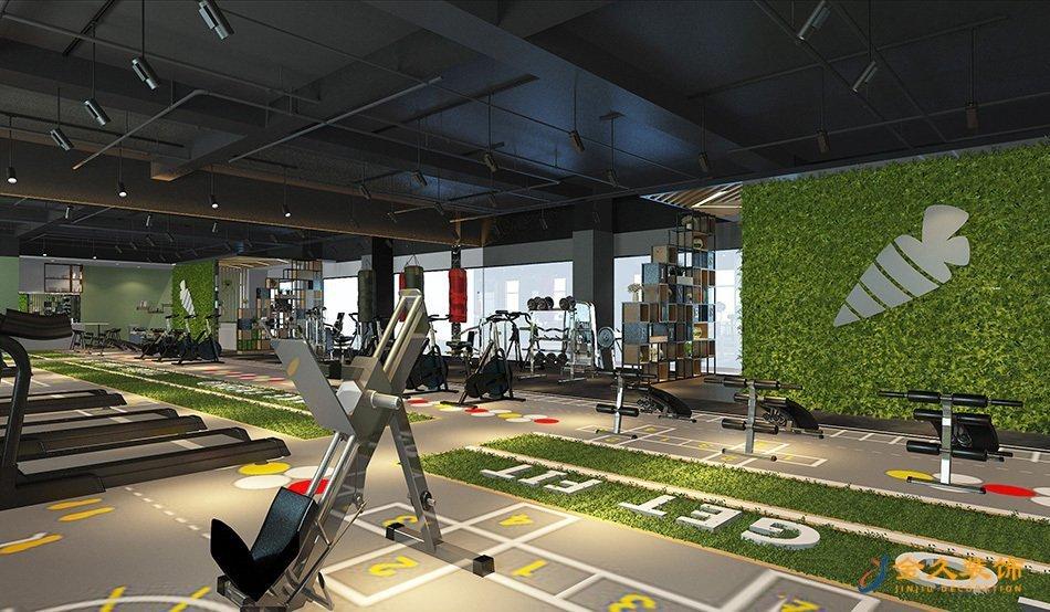 健身区装修设计效果图