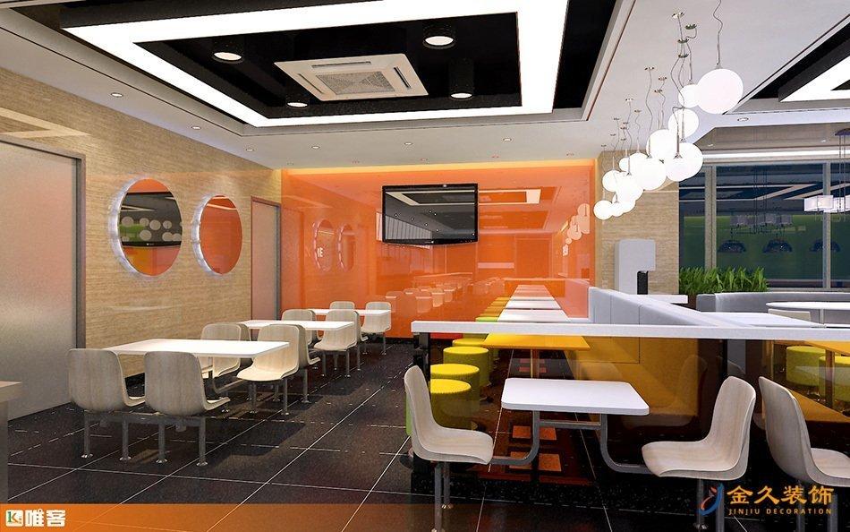 就餐區電視墻裝修設計