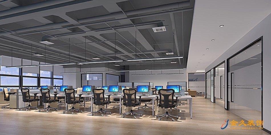 办公区域装修设计效果图