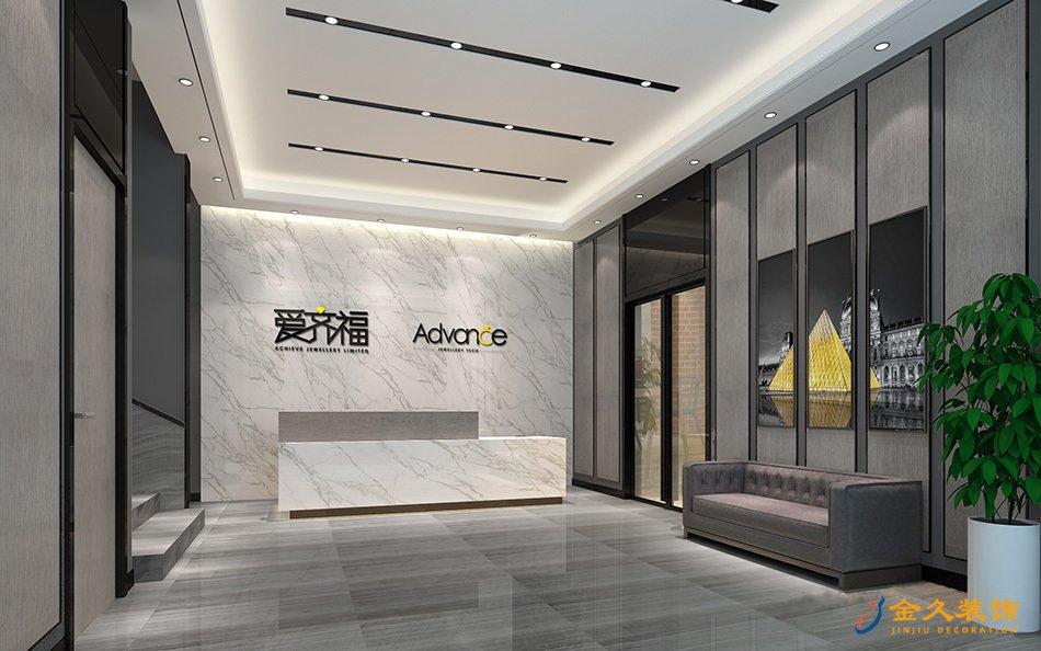 1000㎡廣州餐廳裝修設計效果圖-愛齊福