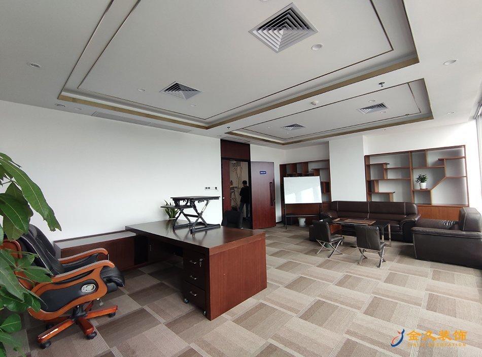 总经理办公室装修设计实景图