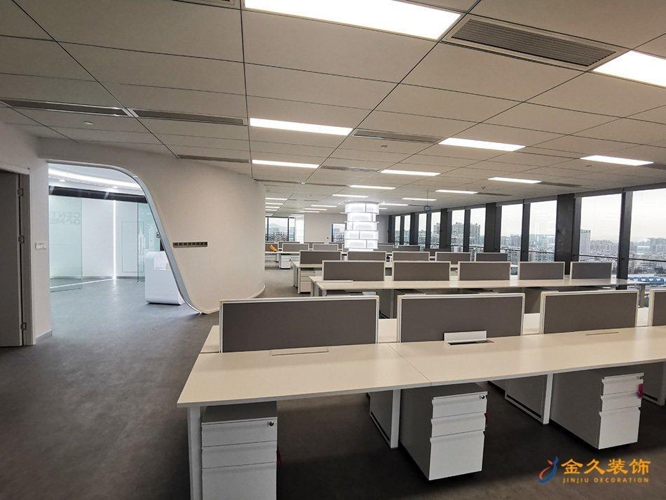 办公区域装修实景图