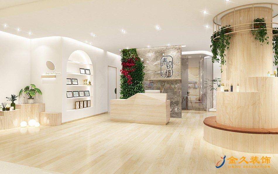 廣州中醫養生館裝修設計-青悅坊