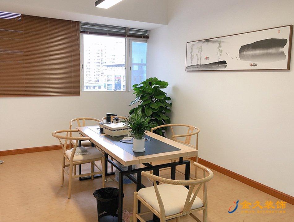 整层办公室装修设计实景图-新视展