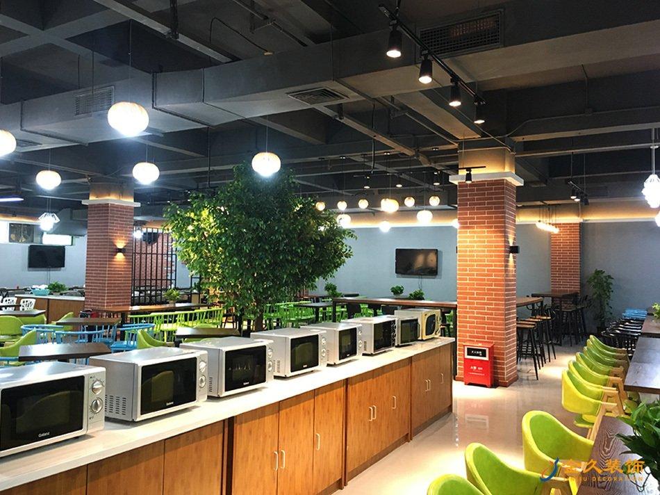 广州餐厅装修设计实景图-爱齐福