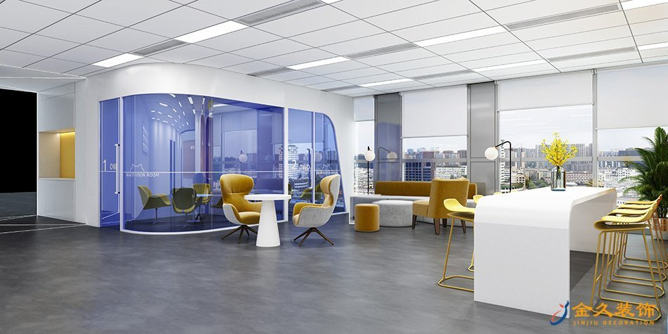 广州办公室装修设计如何给企业带来最大价值化